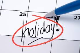 Book A Holiday…