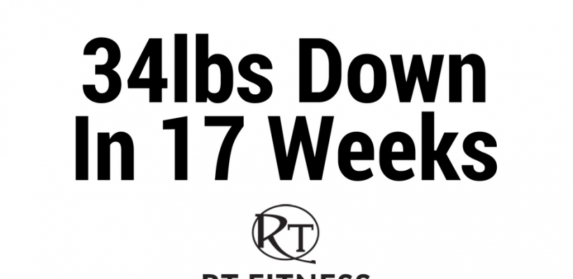 34lbs in 17 weeks…