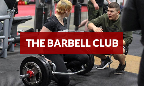 THE BARBELL CLUB
